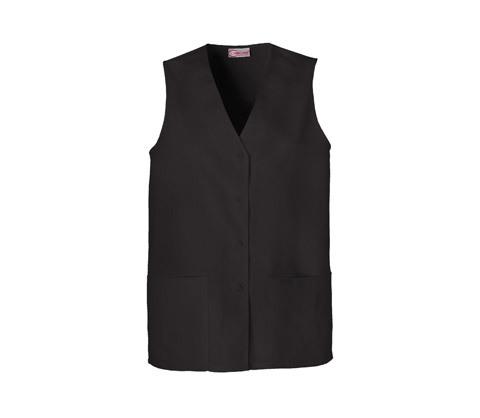 Button Front Vest 1602