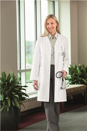 "Meta Nano-Care 39"" Ladies Labcoat 17010"