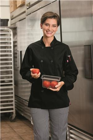 Five Star Ladies 8 Button Chef Jacket 18026