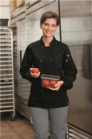 Five Star Ladies 8 Button Chef Jacket 18026