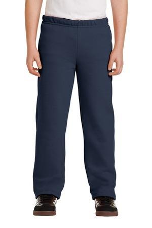 Gildan Youth Heavy Blend Open Bottom Sweatpant. 18400B