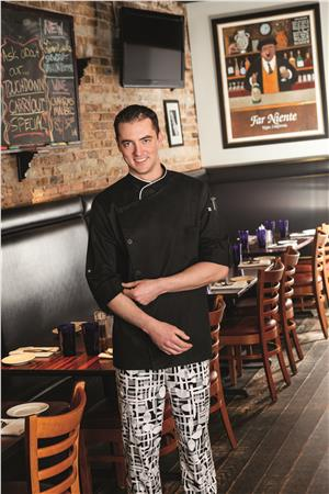 Five Star Long Sleeve Stretch Executive Chef Coat 18535