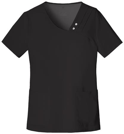Crossover V-Neck Pin-Tuck Top 1999