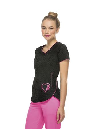 Girls Love Pink V-Neck Top 20976