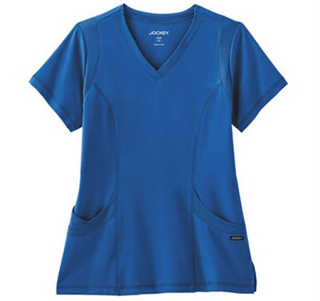 Jockey® Modern Ladies Mesh Stretch V-Neck Top 2329