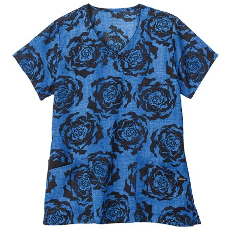 Jockey® Classic Ladies Print Unique V-Neck Top 2344