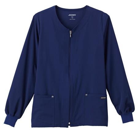 Jockey® Classic Ladies V-Neck Zip-Up Jacket 2378