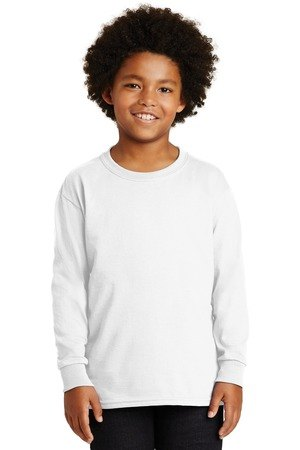 Gildan - Youth Ultra Cotton Long Sleeve T-Shirt.  2400B