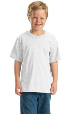 JERZEES - Youth Heavyweight Blend 50-50 Cotton-Poly T-Shirt. 29B