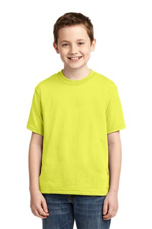 JERZEES  - Youth Dri-Power  Active 50-50 Cotton Poly T-Shirt. 29B