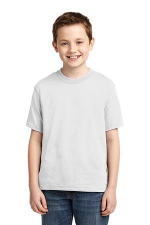 JERZEES - Youth Dri-Power 50/50 Cotton/Poly T-Shirt.  29B