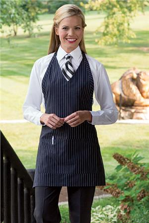 V-Neck Formal Apron 3041