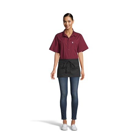 3065 Waist Apron With 2 Section Pockets