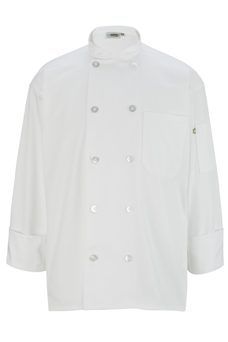 10 Button Long Sleeve Chef Coat 3301