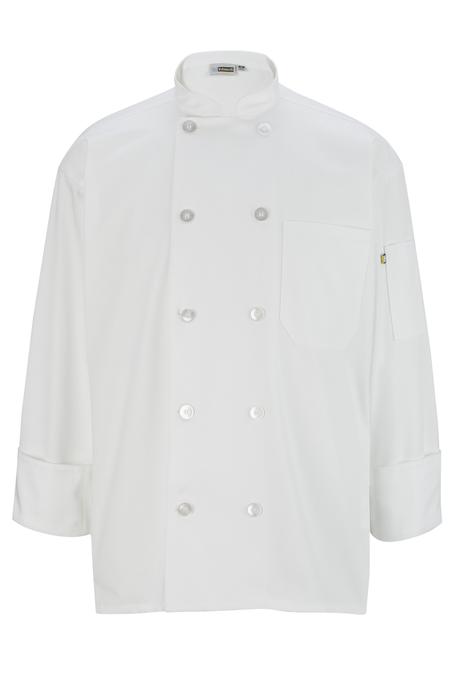 10 Pearl Button Chef Coat 3301