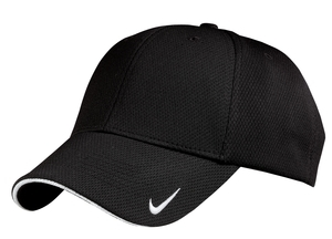 Nike A2 Golf - Dri-FIT Mesh Swoosh Flex Sandwich Cap. 333115