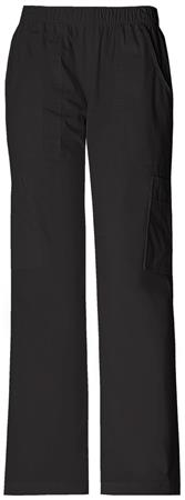 Cherokee Workwear Mid Rise Pull-On Pant Cargo Pant 4005T