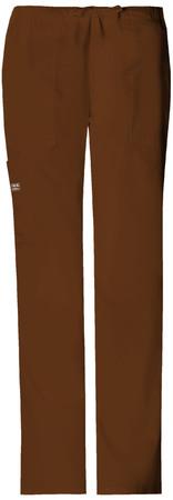 Cherokee Workwear Petite Mid Rise Drawstring Cargo Pant 4044P