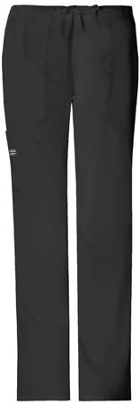 Cherokee Workwear Tall Mid Rise Drawstring Cargo Pant 4044T