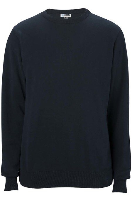 Edwards Crew Neck Cotton Blend Sweater 4086