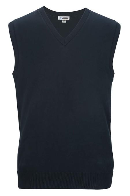 Edwards V-Neck Cotton Blend Sweater Vest 4092