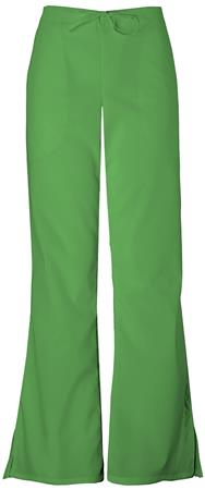Cherokee Workwear Natural Rise Flare Leg Drawstring Pant 4101T