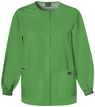 Cherokee Workwear Snap Front Warm-Up Jacket 4350