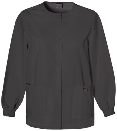 Cherokee Workwear Snap Front Warm-Up Jacket 4350