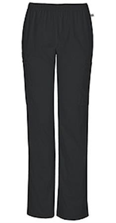 Cherokee Workwear Mid Rise Straight Leg Elastic Waist Pant 44200AP