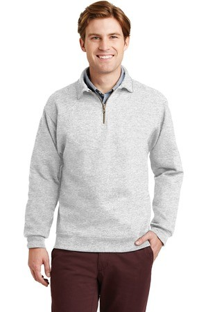 JERZEES SUPER SWEATS NuBlend - 1/4-Zip Sweatshirt with Cadet Collar.  4528M