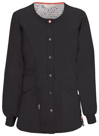 Snap Front Warm-up Jacket 46300AB