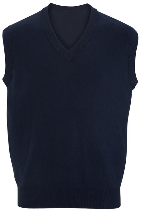 Edwards V-Neck Cotton Sweater Vest 4701