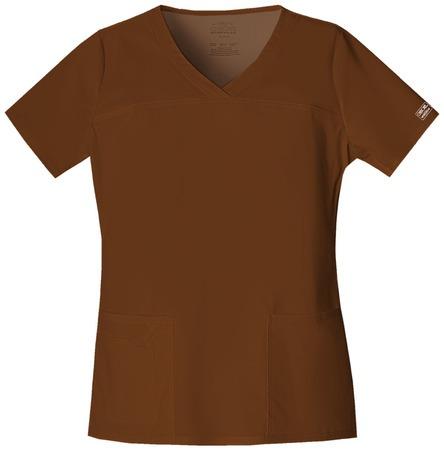 Cherokee Workwear Women's V-Neck Top 4727