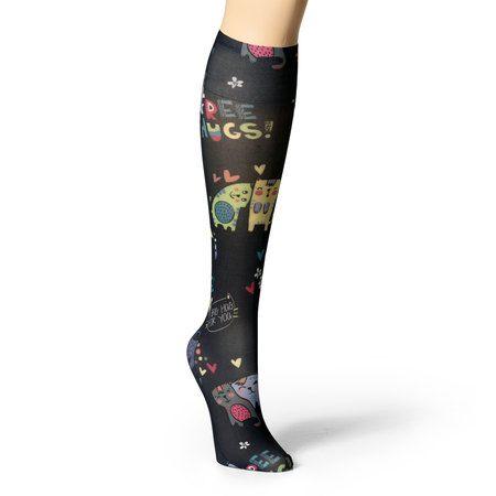 WonderWink Accessories - WonderWink Compression Socks One Size - 480