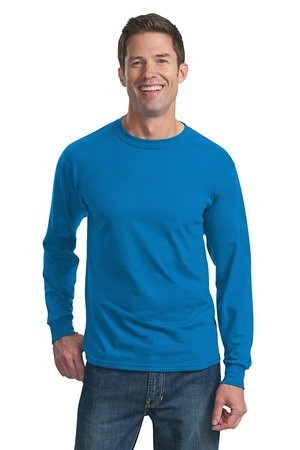 Fruit of the Loom Heavy Cotton HD 100% Cotton Long Sleeve T-Shirt 4930
