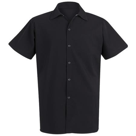 Spun Poly Long Cook Shirt 5035BK
