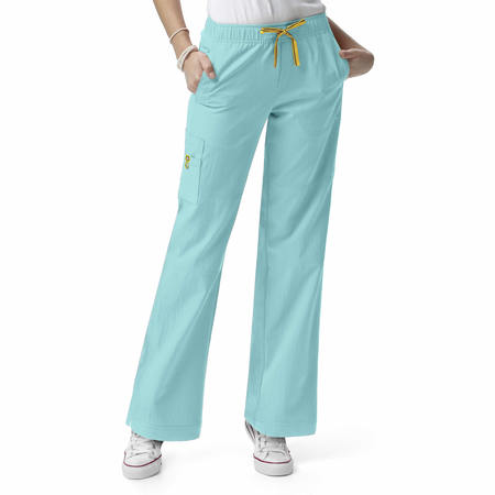 WonderWink Four-Stretch - Sporty Cargo Pant Petite Extended - 5214PX