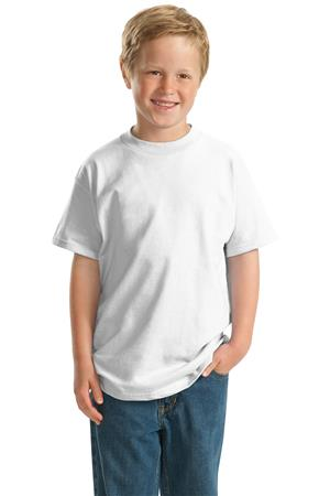 Hanes - Youth Beefy-T Born to Be Worn 100%Cotton T-Shirt. 5380