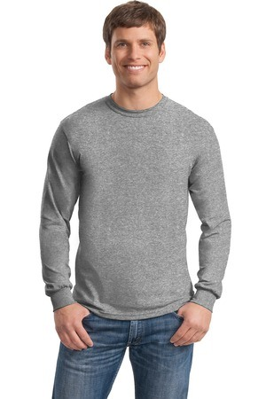 Gildan - Heavy Cotton 100% Cotton Long Sleeve T-Shirt. 5400