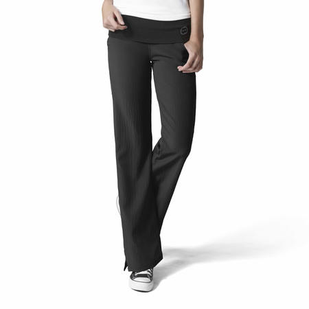 WonderWink Four-Stretch - Fold Over Knit Waist Pant Extended - 5514X