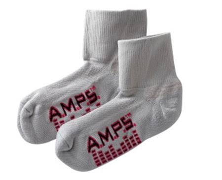 AMPS Ladies Quarter Crew Lite Performance Sock 5912