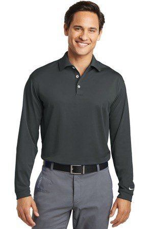 Nike Tall Long Sleeve Dri-FIT Stretch Tech Polo. 604940