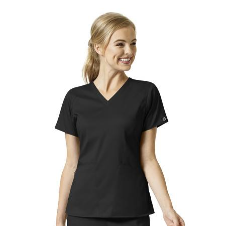 WonderWink PRO Women's 4 Pocket V-Neck Top - 6319