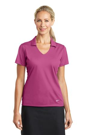 Nike A2 Golf Ladies Dri-FIT Vertical Mesh Polo637165