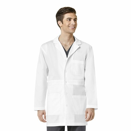 WonderWork Mens Basic Lab Coat - 702