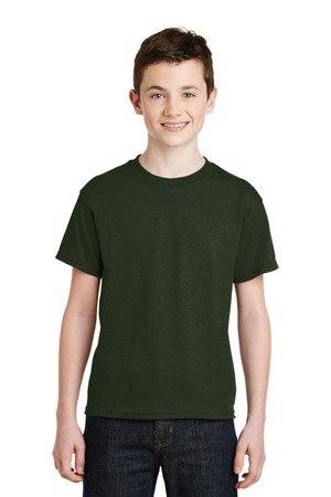 Gildan - Youth DryBlend 50 Cotton/50 Poly T-Shirt.  8000B