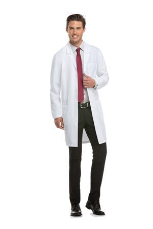 """40"""" Unisex Lab Coat 83403"""