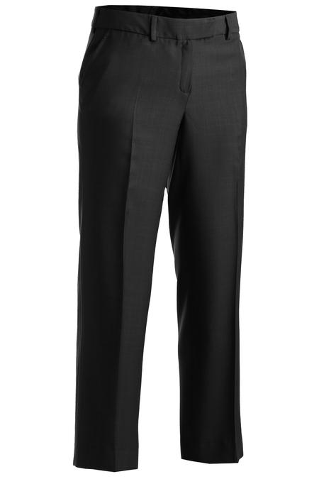 Women's Microfiber Flat Front Pant 8760