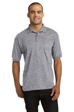 Gildan DryBlend 6-Ounce Jersey Knit Sport Shirt with Pocket. 8900