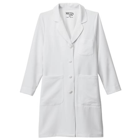 "Meta Pro Ladies 37"" Stretch Labcoat 894"
